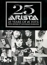 DVD: 25 Years of #1 Hits  - Arista Records 25th Anniversary Celebration, Various