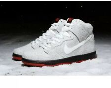 Nike SB Dunk High Black 9.5 881758 110 Wolf In Sheep's Clothing White Gray Rare