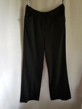 ROCKMANS, SIZE 12, BNWT, BLACK, BASIC SUITING CAREER PANTS