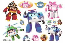 ROBOT TRAINS Temporary Tattoo Sheets stickers Children Kids Birthday Party Bag