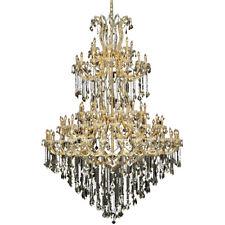Palace Maria Theresa 85 Light Golden Teak Crystal Chandelier Light Gold 72x96