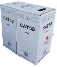 Qualità basso costo CAT 5e Rete Cavo Ethernet 305m METRI contrassegnato BOX Pull
