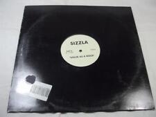 "Sizzla - Solid As A Rock - Vibez Kartel - 12"" Single - White Label Promo"