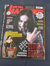 Metal Hammer 12/2005 DIMMU BORGIR NIGHTWISH ARCH ENEMY CHILDREN OF BODOM DARKNES