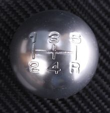 SATIN 5 speed round gear shift knob MAZDA 3 323 323f 626 MX3 MX5 MX6 RX7 RX8