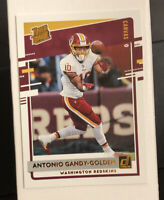 2020 DONRUSS ANTONIO GANDY-GOLDEN RATED ROOKIE CANVAS SP # 334 JUST PULLED MINT!
