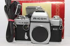 RICOH TLS 401 Silver REFLEX Body a Vite M42 Doppio Mirino Manuale  REVISIONATA 
