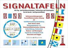 Delius Klasing Signaltafeln Neu, Alle Tag- &Nachtsignale, Sicht- & Schallsignale