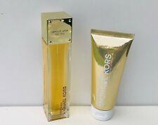 Michael Kors Sexy Amber Eau de Parfum Spray 100ml + Silky Body Lotion Set, NEW