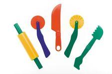 Playdough Dough doh - Fun Dough Play Tools Accessories - Set of 5 quality tools