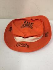 Baltimore Orioles Lite Beer Orange Radio VTG Bucket Fishing Fisher Hat Miller