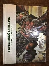 DUNGEONS & DRAGONS Monster Manual DELUXE Limited Ed. English Juego de Rol  AD&D