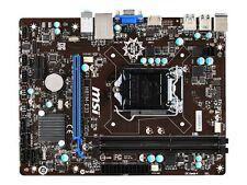 MSI Motherboard Core i7 H81 LGA1150 DDR3 SATA PCI Express USB/VGA/HDMI microATX