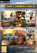 Dogfighter and Air Aces Pacific - Air Combat Double Pack PC 100% Brand New