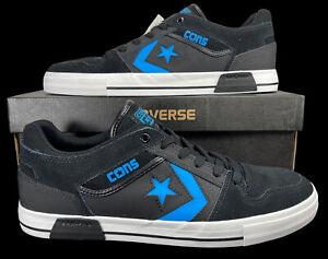 Converse CONS ERX Pro Ox Black Blue Suede Leather Sneaker 146483C 12 Men
