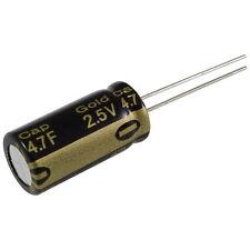 Elko Panasonic HZ 4,7F 2,5V Gold-Cap Kondensator Radial Capacitor 854982