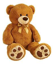 "Large 100cm Jumbo Teddy Bear - 40"" Big - High Quality - Giant Cute Freddie UK"