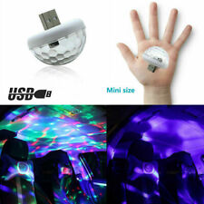 LED Car-Interior Atmosphere Colorful Light-USB Charge Decor Lamp Accessories