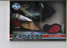 2011 Press Wheels Brand Jeff Gordon Lead Foot Worn Shoe 12/25