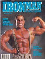NOV 1987 IRON MAN bodybuilding magazine --- MIKE QUINN