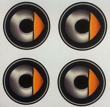 4x 55mm fit SMART mercedes wheel STICKERS center badge centre trim cap hub alloy