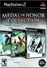 BRAND NEW PS2 BOX SET -- Medal of Honor Collection (PlayStation 2, 2007)