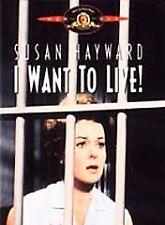 BRAND NEW 1958 I WANT TO LIVE! 2002 DVD, SUSAN HAYWARD OSCAR ACADEMY AWARD