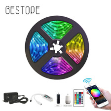 WIFI LED Strip Light DC 12V SMD 5050 Flexible Diode Ribbon Tape RGB light