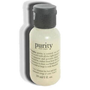 Philosophy Purity Made Simple Cleanser for Face and Eyes 1 Fl Oz (mini)