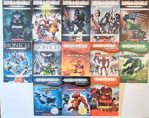 Bionicle Legends Adventures Chronicles 13 Book Lot Grehlg Farshtey