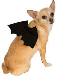 Classic Black Bat Wings Pet Dog Costume Accessory Small-Medium