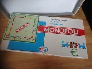 Jeu de société Monopoli édition italien Parkers brothers Giochi complet