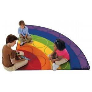 Carpets for Kids 8434 Rainbow Seating Rug