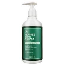 Sidmool Tea tree Biotin Shampoo  Teatree Shampoo  400g