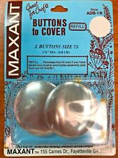 """Maxant Buttons to Cover REFILL 2 Buttons Size 75 1-7/8"""""""