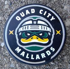 Quad City Mallards ECHL Official Hockey Game Used Puck ~ Vegas Knights Wolves