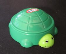"Little Tikes Burger King Turtle 3"" Plastic Toy Peek A Boo Toy"