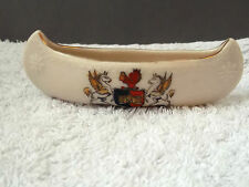 VINTAGE MODEL OF A CANOE CRESTED CITY OF EXETER