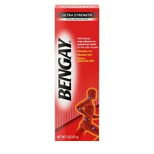 New Ultra Strength Bengay Cream 4 FL. OZ.