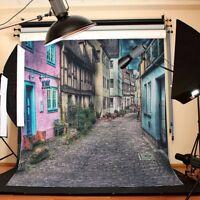 City Photography Background Photo Studio Backdrop Vinyl 8x8FT HOT  !