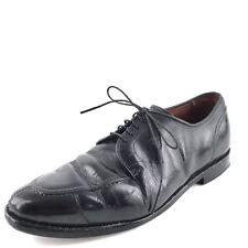 $350 Allen Edmonds Lasalle Black Leather Dress Comfort Oxfords Men's Size 8 D*