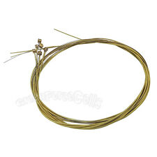 Set of 6 pcs Steel Bronze Strings Accessories For Wooden Acoustic Guitar Brass