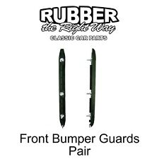 1968 - 1972 Chevy Nova / Chevy II Front Bumper Guards - pair