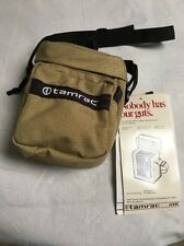 "TAMRAC #600R Beige Travel Carrier Camera Shoulder or Belt Bag 6.5"" NEW With Tags"