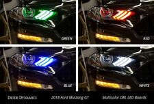 2018-2019 Ford Mustang Multicolor DRL LED Boards (USDM) by Diode Dynamics RGBWA