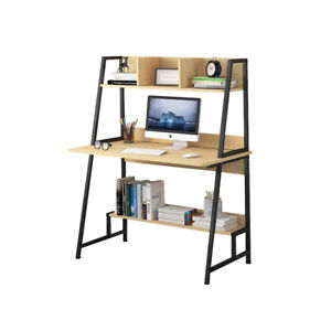 Modern Computer Laptop Desk Computer Table Office Table with Storage Shelves