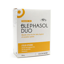 Blephasol Duo Micelle Lotion for The Daily Hygiene of Sensitive Eyelids 100ml