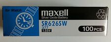 5 pcs New Maxell SR626SW (377) Battery -(Free Shipping Worldwide) EXP.Date: 2021