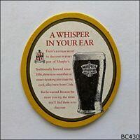 3 Murphy/'s Beer Mats Coasters IrelandUnused B167