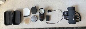Godox V1F Fujifilm + Accessories and Case (Used - Excellent Condition)